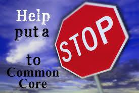 Stop sign blue sky common core